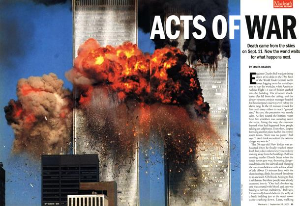 Article Preview: ACTS OF WAR, September 2001 | Maclean's