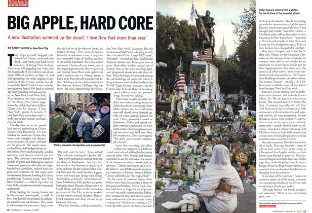 Article Preview: BIG APPLE, HARD CORE, October 2001 | Maclean's