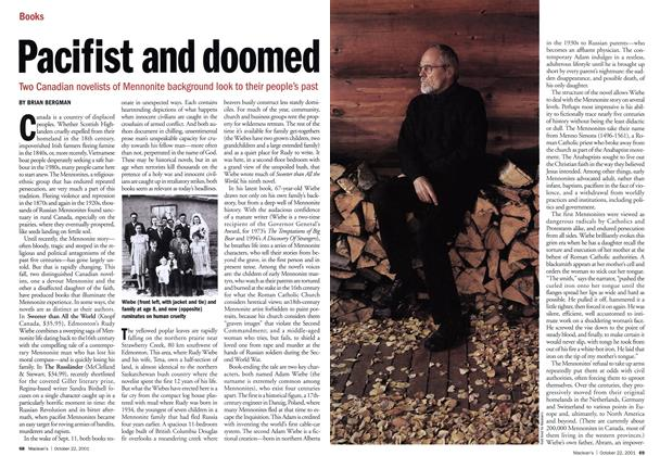 Article Preview: Pacifist and doomed, October 2001 | Maclean's