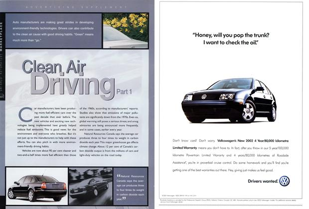 Article Preview: Clear Air Driving Part 1, October 2001 | Maclean's