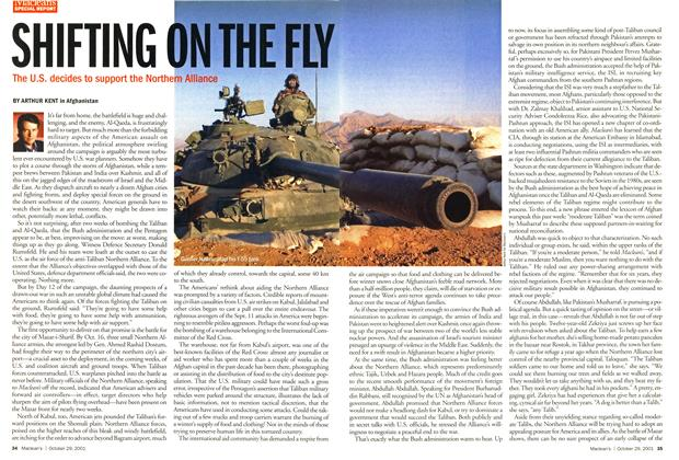 Article Preview: SHIFTING ON THE FLY, October 2001 | Maclean's