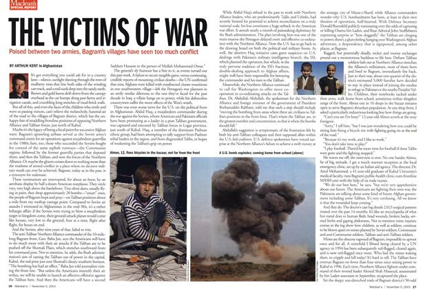 Article Preview: THE VICTIMS OF WAR, November 2001 | Maclean's