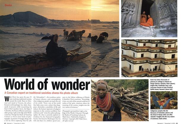 Article Preview: World of wonder, November 2001 | Maclean's