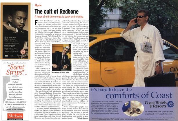 Article Preview: The cult of Redbone, November 2001 | Maclean's