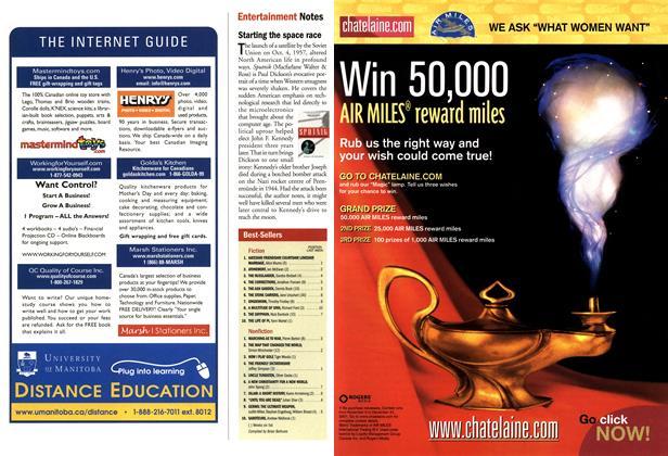 Article Preview: Best-Sellers, November 2001   Maclean's