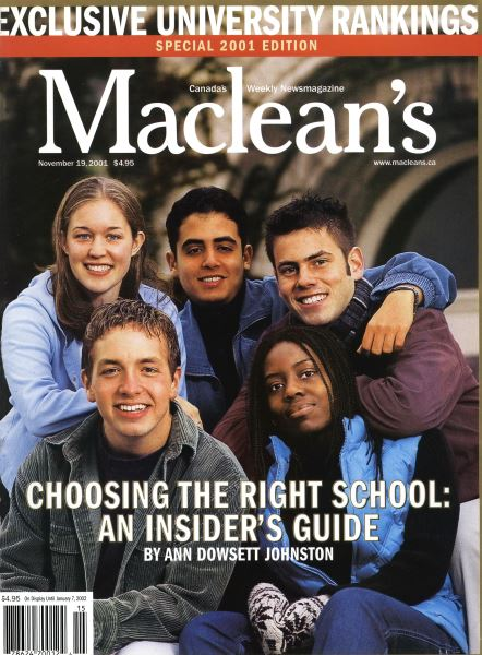 Issue: - November 19,2001 | Maclean's