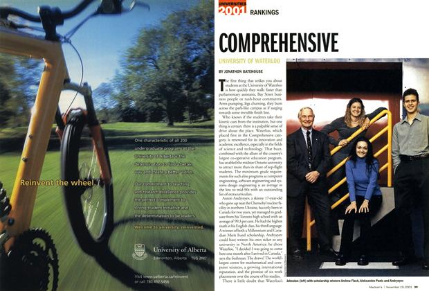 Article Preview: COMPREHENSIVE, November 19,2001 2001 | Maclean's