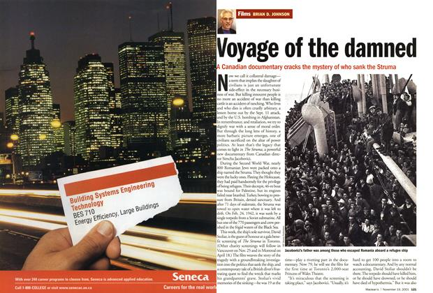 Article Preview: Voyage of the damned, November 19,2001 2001 | Maclean's