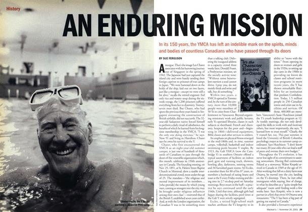 Article Preview: AN ENDURING MISSION, November 2001 | Maclean's