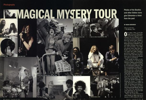 Article Preview: MAGICAL MYSTERY TOUR, November 2001 | Maclean's