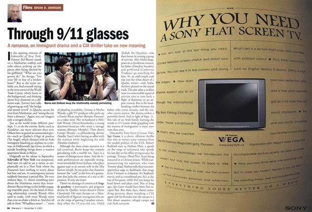 Article Preview: Through 9/11 glasses, December 2001 | Maclean's