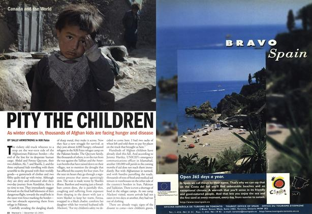 Article Preview: PITY THE CHILDREN, December 2001 | Maclean's