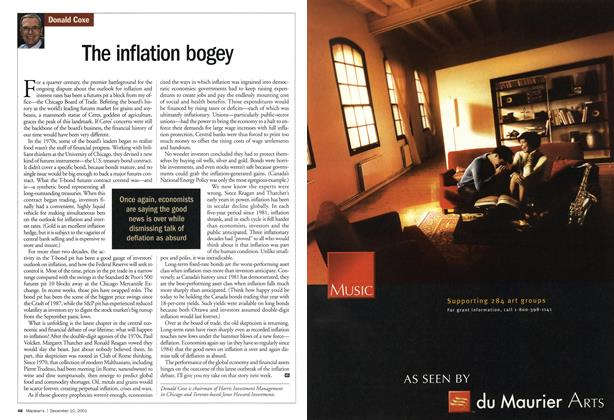 Article Preview: The inflation bogey, December 2001 | Maclean's