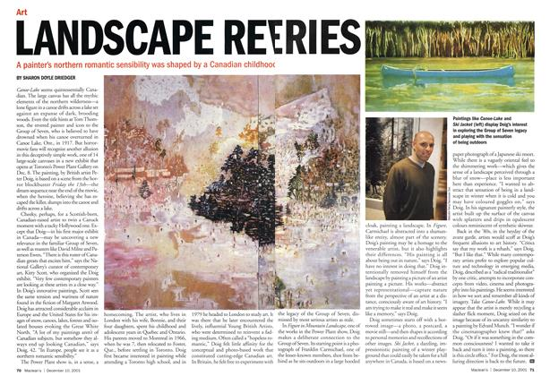 Article Preview: LANDSCAPE REVERIES, December 2001 | Maclean's