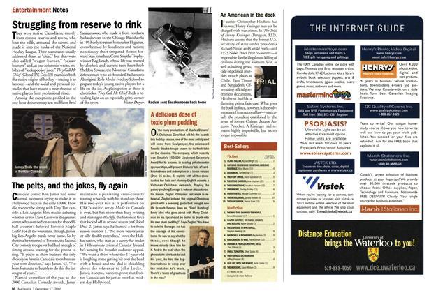 Article Preview: Best-Sellers, December 2001 | Maclean's