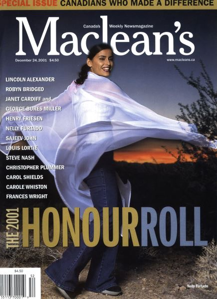 Issue: - December 2001 | Maclean's