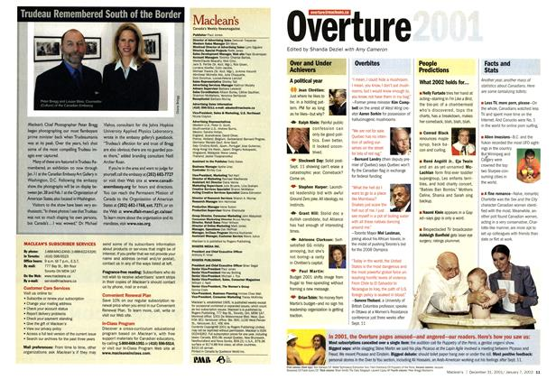 Article Preview: Overture, December 2001 | Maclean's