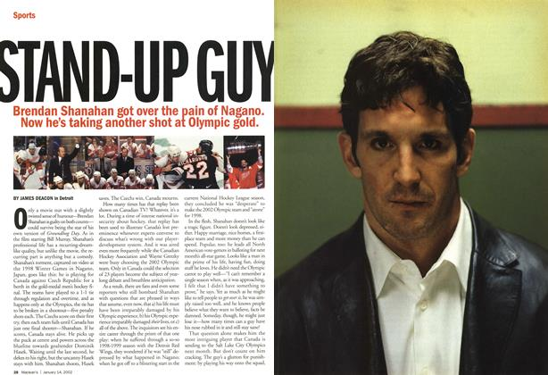 Article Preview: STAND-UP GUY, January 2002 | Maclean's