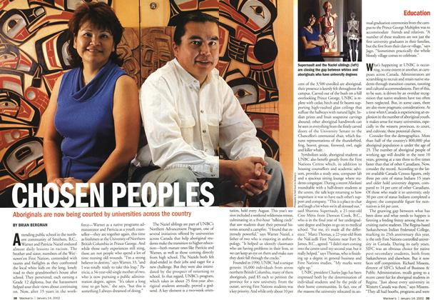 Article Preview: CHOSEN PEOPLES, January 2002 | Maclean's