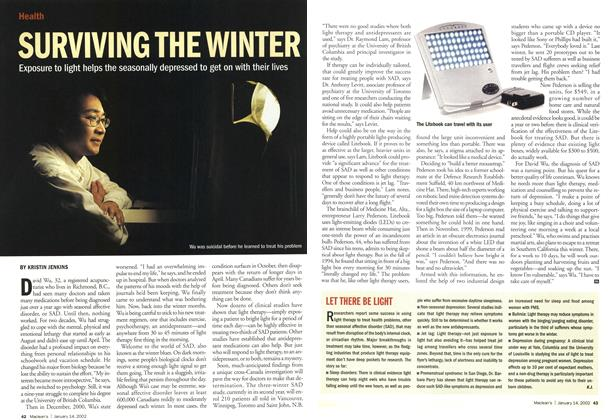 Article Preview: SURVIVING THE WINTER, January 2002 | Maclean's