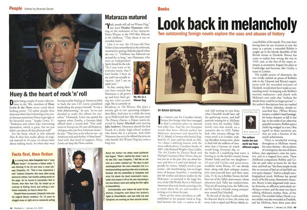 Article Preview: People, January 2002 | Maclean's
