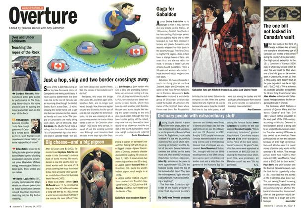 Article Preview: Overture, January 2002 | Maclean's