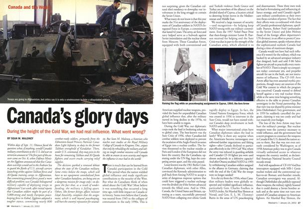 Article Preview: Canada's glory days, January 2002 | Maclean's