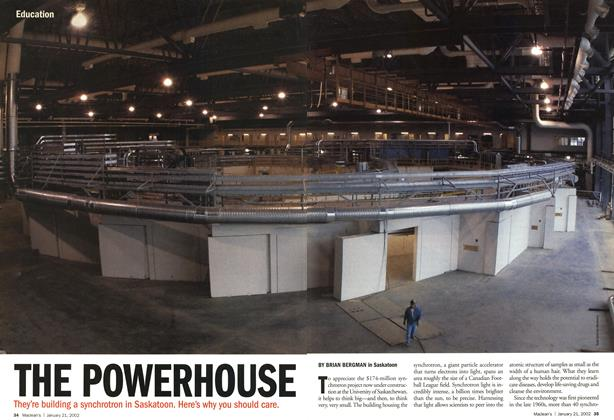 Article Preview: THE POWERHOUSE, January 2002 | Maclean's