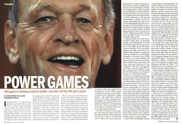 Article Preview: POWER GAMES, January 2002 | Maclean's