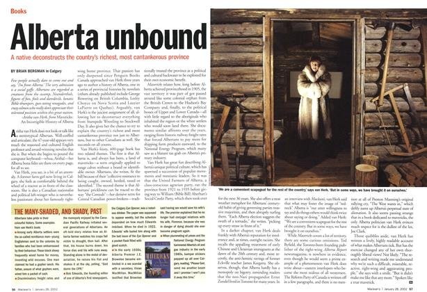 Article Preview: Alberta unbound, January 2002 | Maclean's