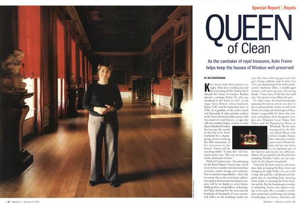 Article Preview: OUEEN of Clean, February 2002 | Maclean's