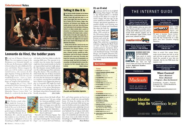 Article Preview: Telling it like it is, February 2002 | Maclean's