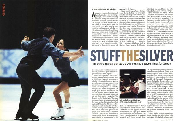 Article Preview: STUFF THE SILVER, February 2002 | Maclean's