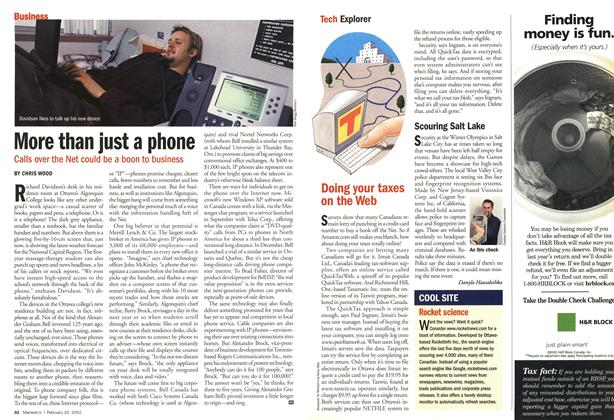 Article Preview: More than just a phone, February 2002 | Maclean's