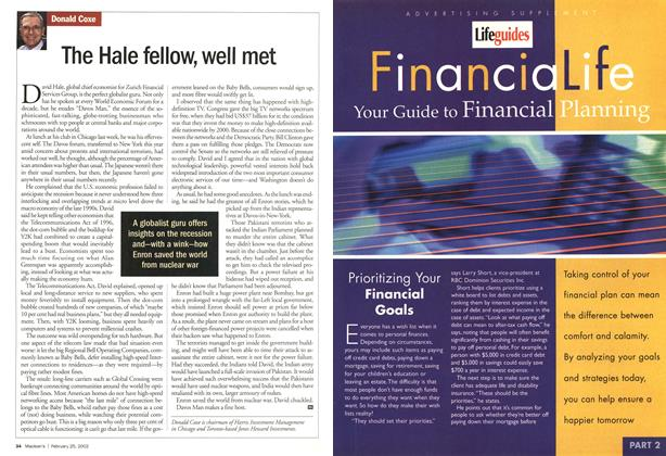 Article Preview: The Hale fellow, well met, February 2002 | Maclean's