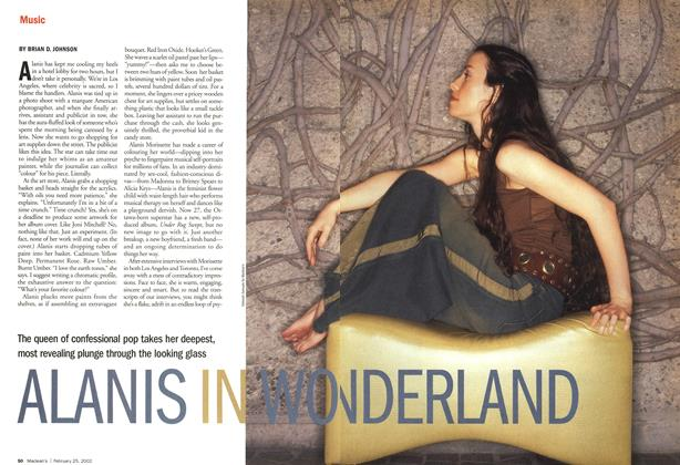 Article Preview: ALANIS IN WONDERLAND, February 2002 | Maclean's