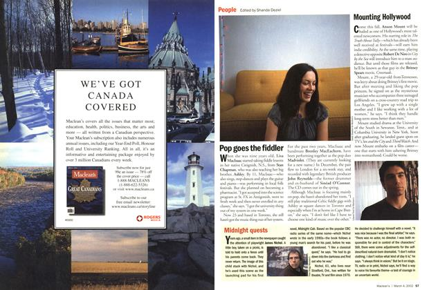 Article Preview: People, March 4,2002 2002 | Maclean's