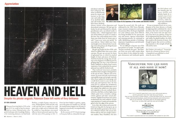 Article Preview: HEAVEN AND HELL, March 4,2002 2002 | Maclean's