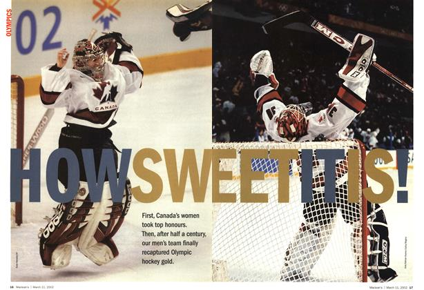 Article Preview: HOW SWEET IT IS!, March 11,2002 2002 | Maclean's