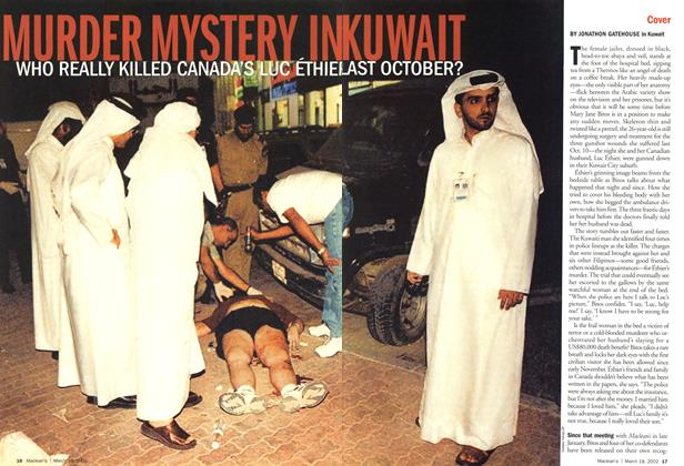 Article Preview: MURDER MYSTERY IN KUWAIT, March 2002 | Maclean's