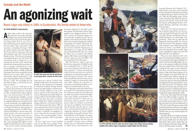 Article Preview: An agonizing wait, March 2002 | Maclean's