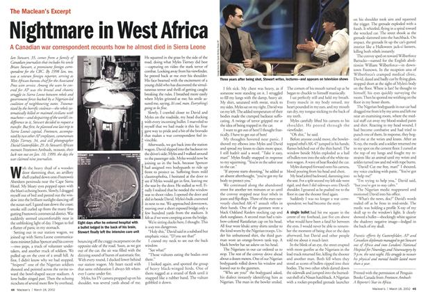 Article Preview: Nightmare in West Africa, March 2002 | Maclean's