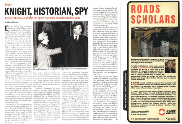 Article Preview: KNIGHT, HISTORIAN, SPY, March 2002 | Maclean's