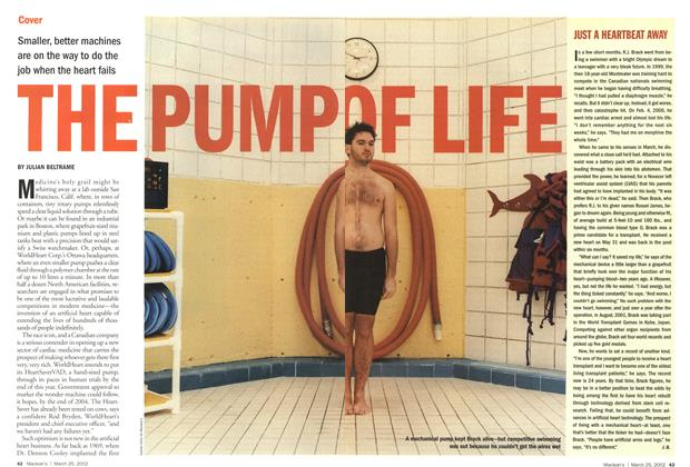 Article Preview: THE PUMP OF LIFE, March 2002 | Maclean's