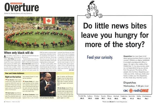 Article Preview: Overture, March 2002 | Maclean's