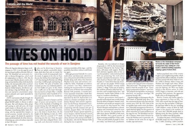 Article Preview: LIVES ON HOLD, April 2002 | Maclean's