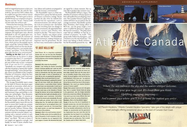 Article Preview: 'IT JUST KILLS ME', April 2002 | Maclean's