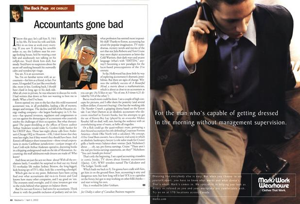 Article Preview: Accountants gone bad, April 2002 | Maclean's