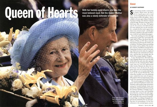 Article Preview: Queen of Hearts, April 2002 | Maclean's