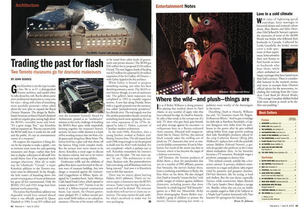 Article Preview: Trading the past for flash, April 2002 | Maclean's